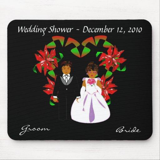 Christmas/December Wedding Shower II Mousepad Mouse Pad