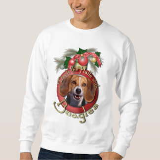 Christmas - Deck the Halls - Beagles Sweatshirt