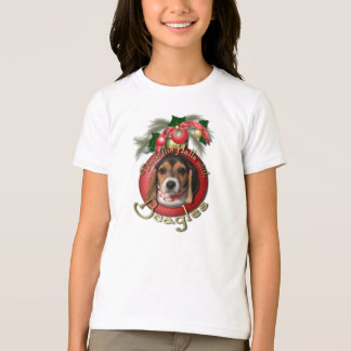 Christmas - Deck the Halls - Beagles T-Shirt