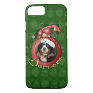 Christmas - Deck the Halls - Berners iPhone 8/7 Case