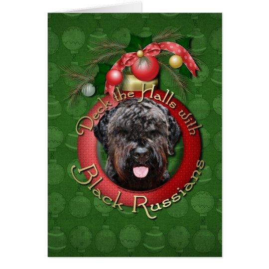 Christmas - Deck the Halls - Black Russian