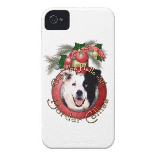 Christmas - Deck the Halls - Border Collies Case-Mate Blackberry Case