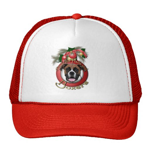 Christmas - Deck the Halls - Boxers - Vindy Hats
