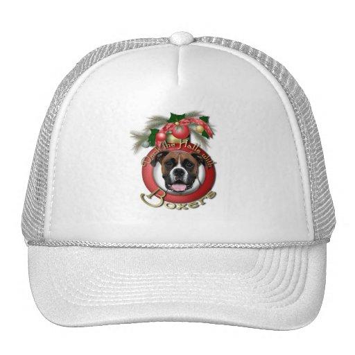 Christmas - Deck the Halls - Boxers - Vindy Mesh Hat