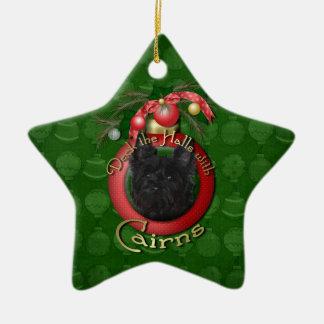 Christmas - Deck the Halls - Cairns - Rosco Christmas Ornament