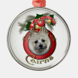 Christmas - Deck the Halls - Cairns - Teddy Bear Christmas Ornament