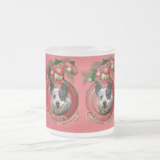 Christmas - Deck the Halls - Cattle Dogs Coffee Mug