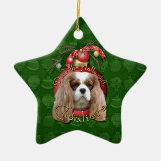Christmas - Deck the Halls - Cavaliers - Blenheim Christmas Ornament