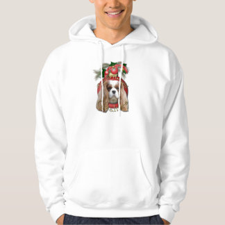 Christmas - Deck the Halls - Cavaliers - Blenheim Hoodie