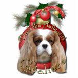 Christmas - Deck the Halls - Cavaliers - Blenheim Photo Sculpture Decoration