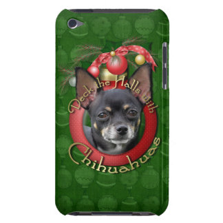 Christmas - Deck the Halls - Chihuahuas - Isabella iPod Touch Case-Mate Case