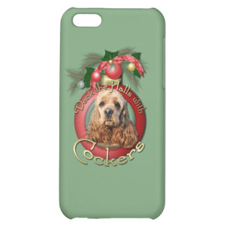 Christmas - Deck the Halls - Cockers iPhone 5C Cover