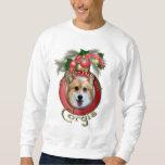 Christmas - Deck the Halls - Corgis - Owen Sweatshirt