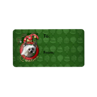 Christmas - Deck the Halls - Cresties Label