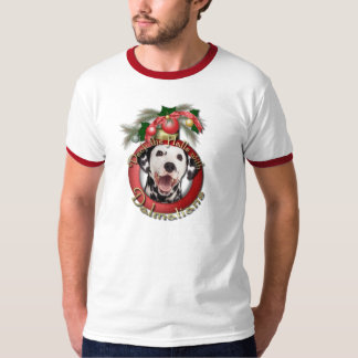 Christmas - Deck the Halls - Dalmatians T-Shirt