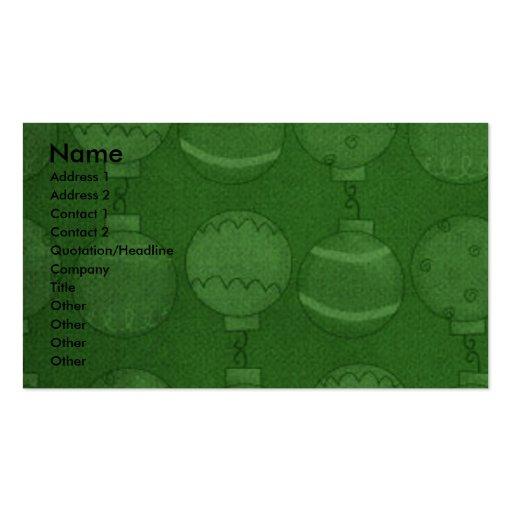 Christmas - Deck the Halls - Danes - Grey Business Card Templates