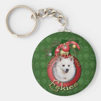 Christmas - Deck the Halls - Eskies Key Chains