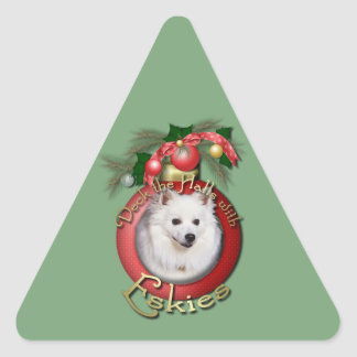 Christmas - Deck the Halls - Eskies Stickers