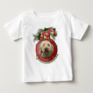 Christmas - Deck the Halls - Goldendoodles Baby T-Shirt