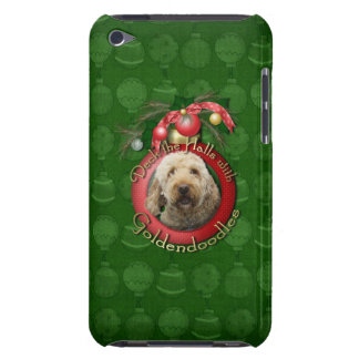 Christmas - Deck the Halls - GoldenDoodles Barely There iPod Case