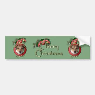 Christmas - Deck the Halls - Jacks Bumper Sticker