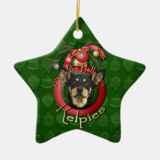 Christmas - Deck the Halls - Kelpies Christmas Ornament