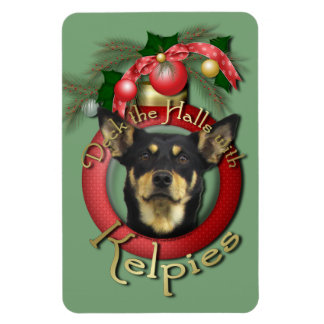 Christmas - Deck the Halls - Kelpies Magnet