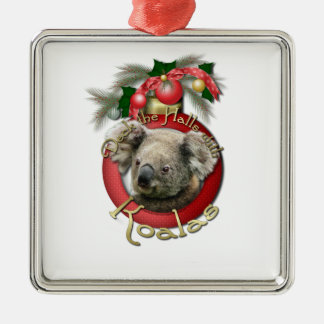 Christmas - Deck the Halls - Koalas Christmas Ornament