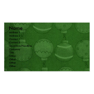 Christmas - Deck the Halls - Newfie Business Cards