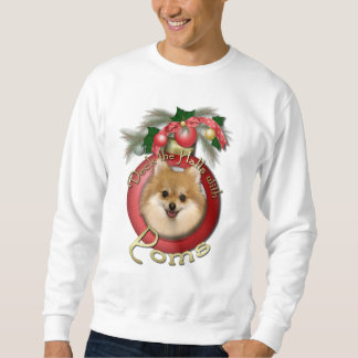 Christmas - Deck the Halls - Poms Sweatshirt