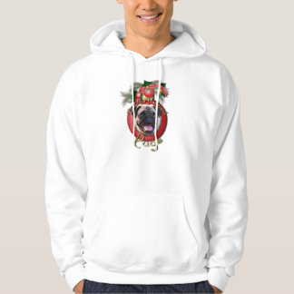 Christmas - Deck the Halls - Pugs Hoodie