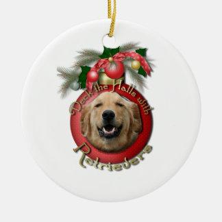 Christmas - Deck the Halls - Retrievers - Mickey Christmas Ornament