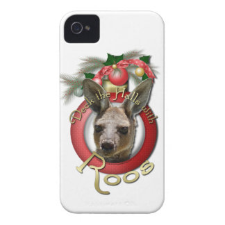 Christmas - Deck the Halls - Roos iPhone 4 Covers