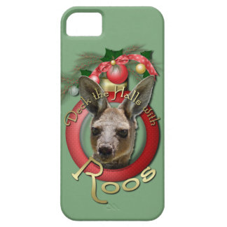 Christmas - Deck the Halls - Roos iPhone 5 Cases
