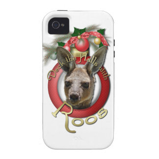 Christmas - Deck the Halls - Roos iPhone 4 Cover