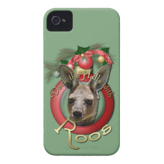 Christmas - Deck the Halls - Roos iPhone 4 Case-Mate Cases