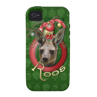 Christmas - Deck the Halls - Roos iPhone 4/4S Cases