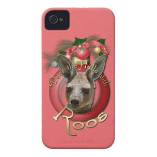 Christmas - Deck the Halls - Roos iPhone 4 Cases