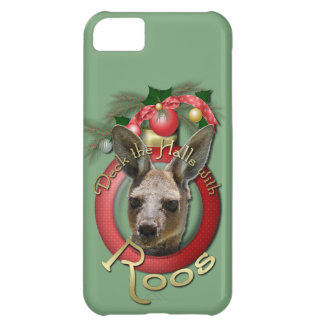 Christmas - Deck the Halls - Roos iPhone 5C Cases