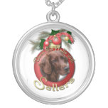 Christmas - Deck the Halls - Setters Custom Necklace