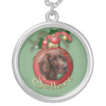 Christmas - Deck the Halls - Setters Personalised Necklace