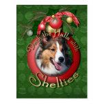 Christmas - Deck the Halls - Shelties
