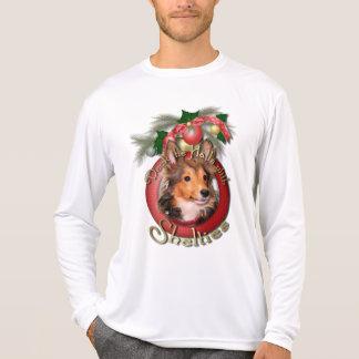 Christmas - Deck the Halls - Shelties - Cooper T-Shirt