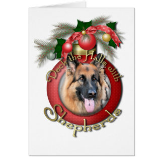 Christmas - Deck the Halls - Shepherds - Chance Greeting Card
