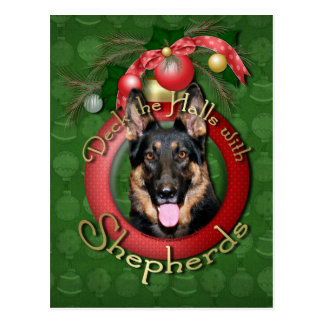 Christmas - Deck the Halls - Shepherds - Kuno Postcard