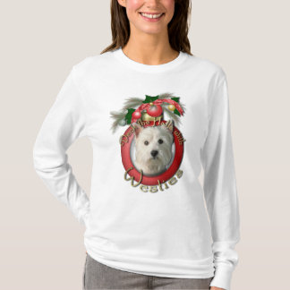 Christmas - Deck the Halls - Westies T-Shirt