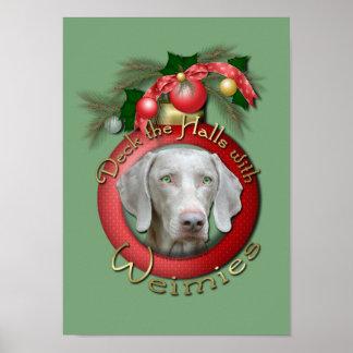 Christmas - Deck the Halls - Wiemies Posters