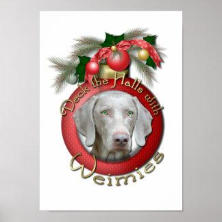 Christmas - Deck the Halls - Wiemies Print