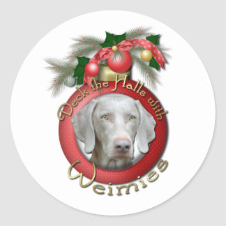 Christmas - Deck the Halls - Wiemies Sticker