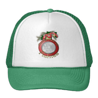 Christmas - Deck the Halls with Fishies Trucker Hat